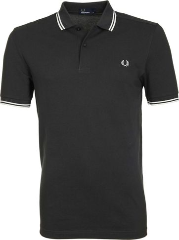 Fred Perry Poloshirt 686 Grey