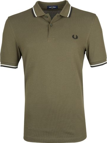 Fred Perry Poloshirt Army K93