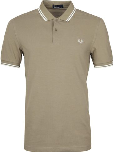 Fred Perry Poloshirt Beige H04