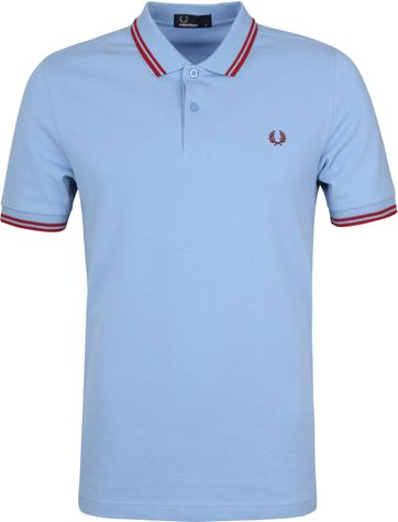 Fred Perry Poloshirt Blau 444