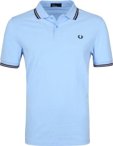 Fred Perry Poloshirt Blau A68