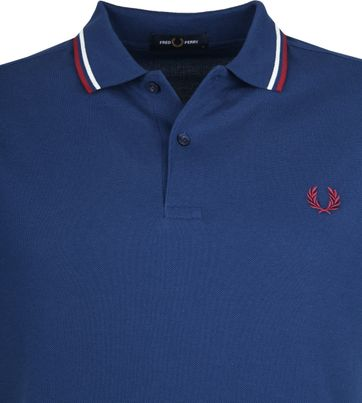Fred Perry Poloshirt Blue 588