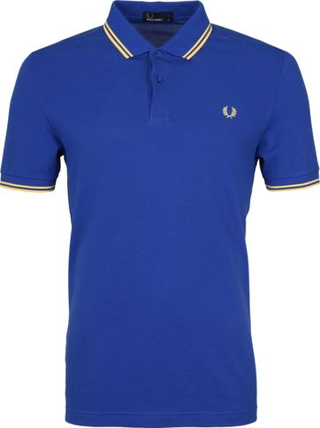 Fred Perry Poloshirt Blue G89