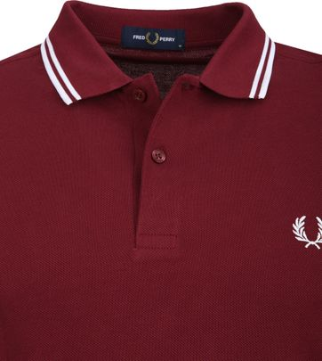 Fred Perry Poloshirt Burgundy