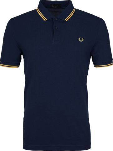 Fred Perry Poloshirt Carbon Blue 266