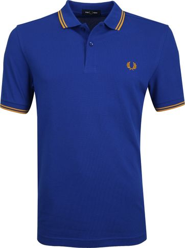 Fred Perry Poloshirt Cobalt Blue
