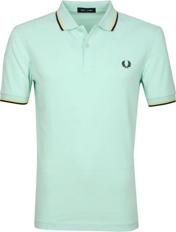 Fred Perry Poloshirt D54 Misty Jade