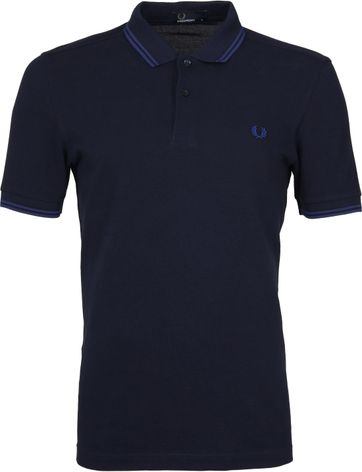 Fred Perry Poloshirt Dark Blue H26