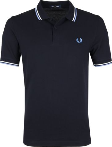 Fred Perry Poloshirt Dark Blue J88