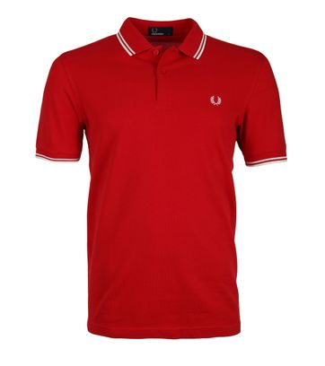 Fred Perry Poloshirt England Red
