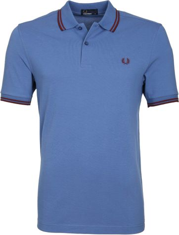 Fred Perry Poloshirt G25 Blue