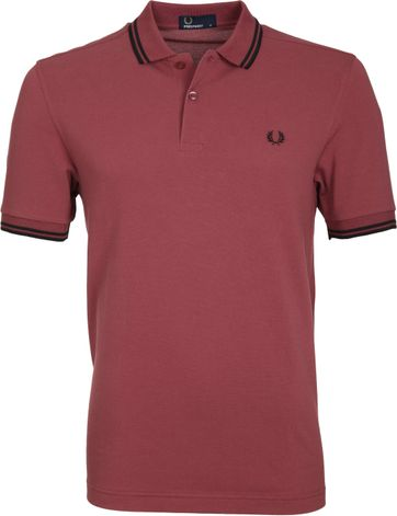 Fred Perry Poloshirt G36 Rot