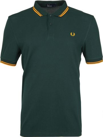 Fred Perry Poloshirt Green F40