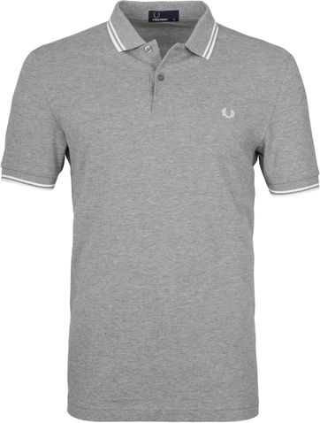 Fred Perry Poloshirt Grey H38