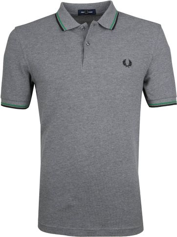 Fred Perry Poloshirt Grey J83