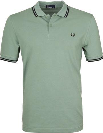 Fred Perry Poloshirt Grün I10