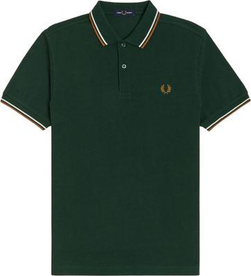 Fred Perry Poloshirt Grün M61