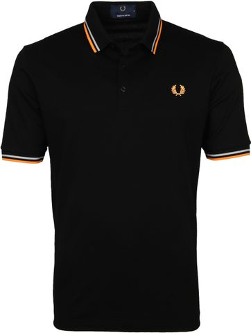 Fred Perry Poloshirt M102 Schwarz