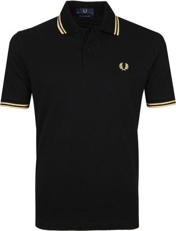 Fred Perry Poloshirt M12 Black
