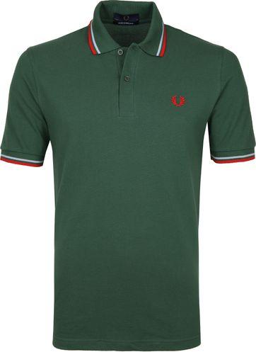 Fred Perry Poloshirt M12 Dunkelgrün