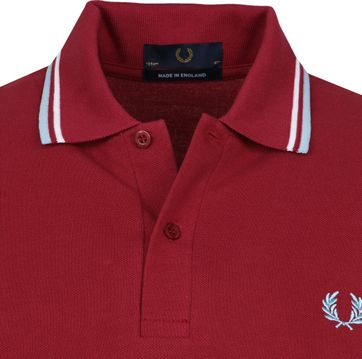 Fred Perry Poloshirt M12 Rot