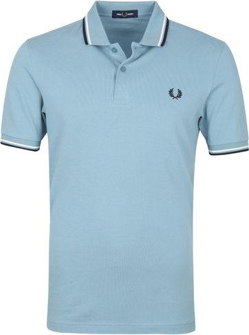 Fred Perry Poloshirt M3600 Blau