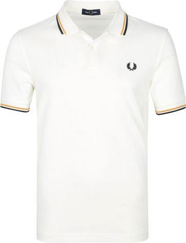 Fred Perry Poloshirt M3600 Gebrochenes Weiß