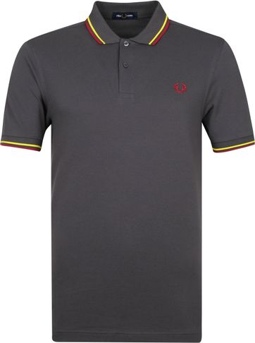 Fred Perry Poloshirt M3600 Grau
