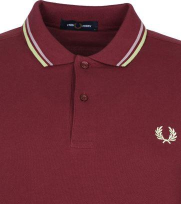 Fred Perry Poloshirt M3600 Lila