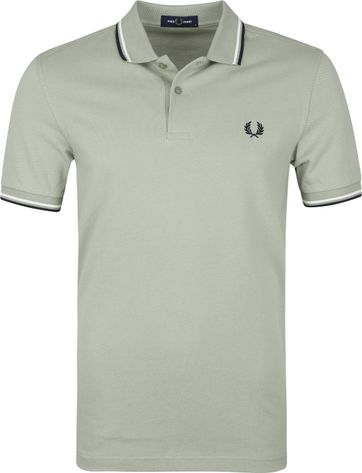 Fred Perry Poloshirt M3600 Seagrass Grun