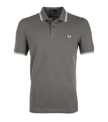 Fred Perry Poloshirt Mid Grey