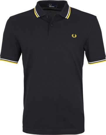 Fred Perry Poloshirt Navy I11