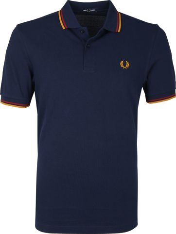 Fred Perry Poloshirt Navy L46