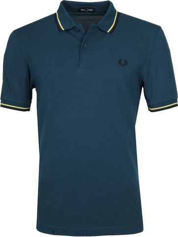 Fred Perry Poloshirt Petrol K87