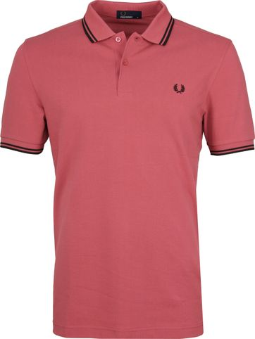 Fred Perry Poloshirt Pink I09