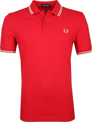Fred Perry Poloshirt Red J95