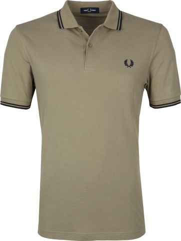 Fred Perry Poloshirt Sage
