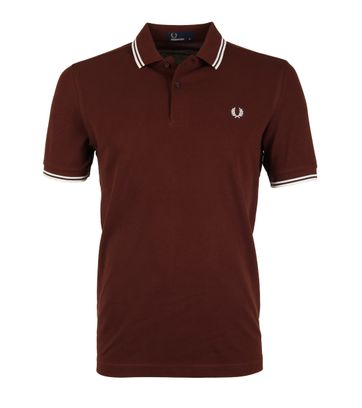 Fred Perry Poloshirt Stadium Red