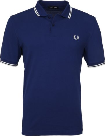 Fred Perry Poloshirt Twin Tipped Blue I71