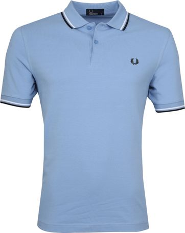 Fred Perry Poloshirt Twin Tipped I08