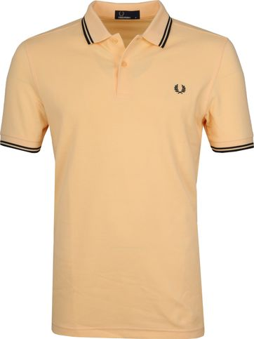 Fred Perry Poloshirt Yellow I07