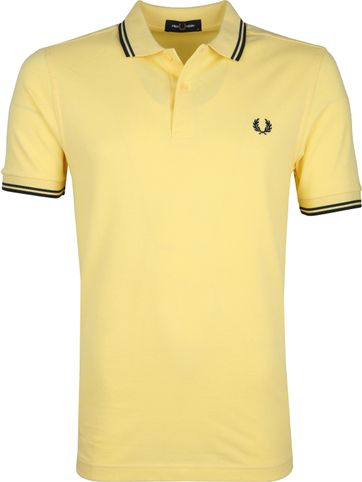 Fred Perry Poloshirt Yellow I27