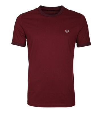 Fred Perry Ringer Shirt Rot