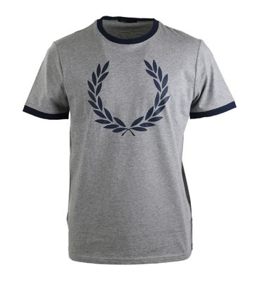 Fred Perry Shirt Grey