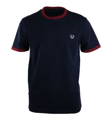 Fred Perry Shirt Navy