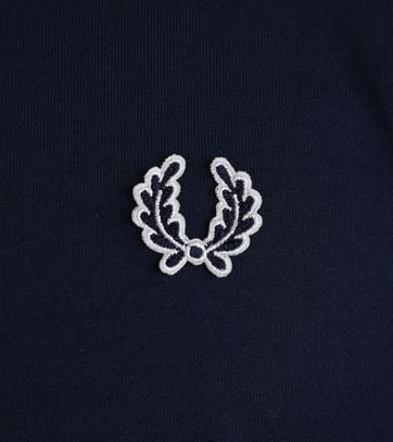 Detail Fred Perry Shirt Navy