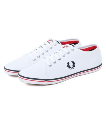 Fred Perry Sneaker Kingston Weiß