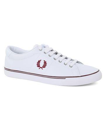 Fred Perry Sneaker Leder Weiß