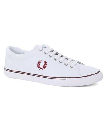 Fred Perry Sneaker Leer Wit