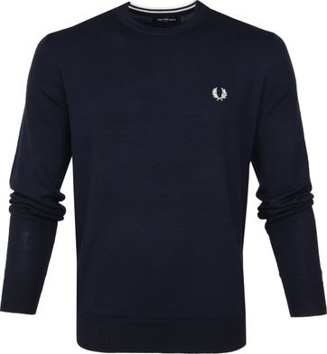 Fred Perry Sweater Classic Merino Navy